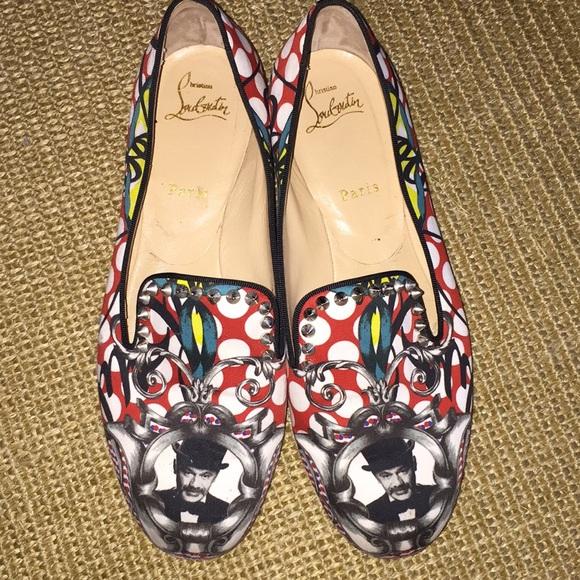 pretty nice 49955 a4557 Christian Louboutin smoking slippers
